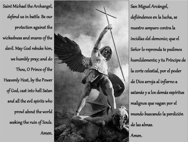 Saint Michael the Archangel Prayer